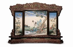 Chinese Table Screens - Image