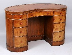 Antique Kidney Shaped Desks - Image