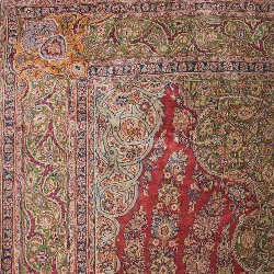 Antique Qazvin Rugs - Image